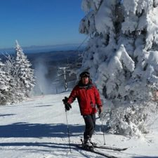 One of our patients recovered to return to his love of skiing.