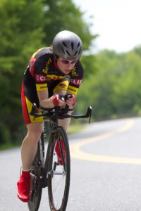 Andrea is a former professional road cyclist and a current category 1 road and cyclocross racer.